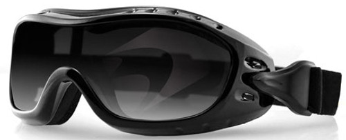 Bobster Night Hawk OTG Goggle with Black Frame and Anti-Fog Smoke Lens