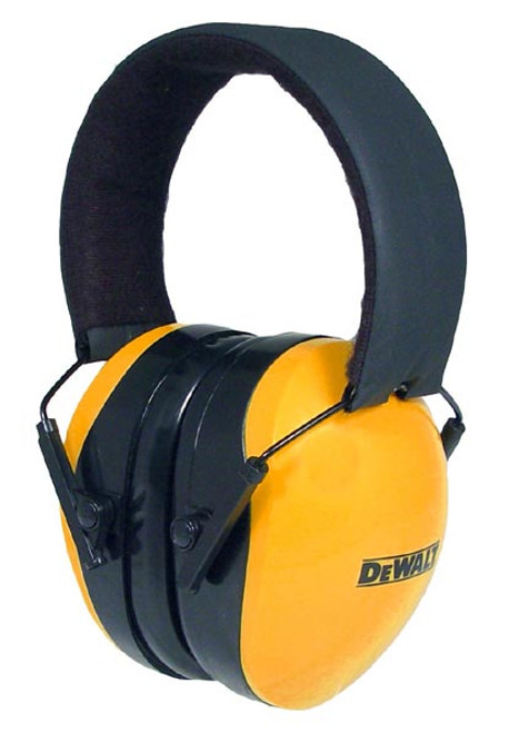 DeWalt Interceptor Folding Earmuff