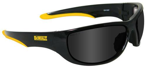 DeWalt Dominator Safety Glasses with Black Frame and Smoke Lens