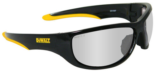 DeWalt Dominator Safety Glasses with Black Frame and Indoor/Outdoor Lens DPG94-9D