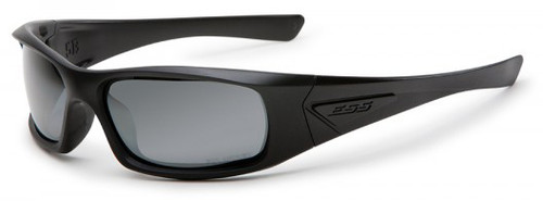 ESS 5B Ballistic Sunglasses with Black Frame and Smoke Gray Lenses