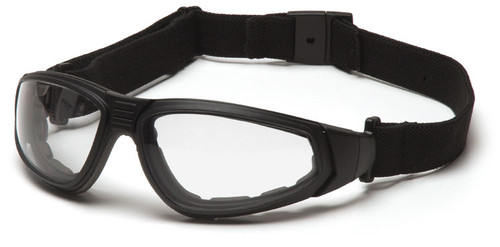 Pyramex XSG Goggle with Black Frame and Clear Anti-Fog Lens