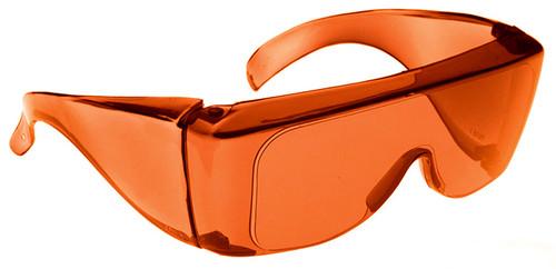 NoIR BluGard OTG Nighttime Eyewear with Orange Over-Prescription Lens