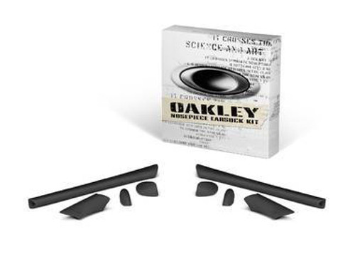 Oakley Half Jacket Accessory Kit with Black Nose Pads and Black Earsocks Lenses
