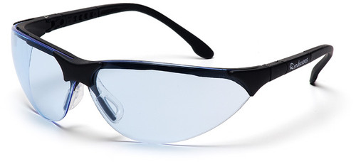 Pyramex Rendezvous Safety Glasses with Black Frame and Infinity Blue Lens