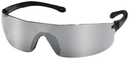 Radians Rad-Sequel Safety Glasses with Silver Mirror Lens
