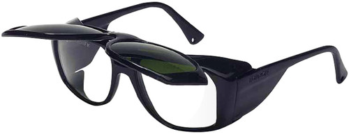 Uvex Horizon Safety Glasses with Shade 3 Flip-Up Lens