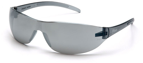 Pyramex Alair Safety Glasses with Silver Mirror Lens