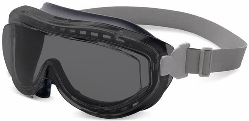 Uvex Flex Seal Goggles with Gray Frame and Gray Uvextreme Anti-Fog Lens