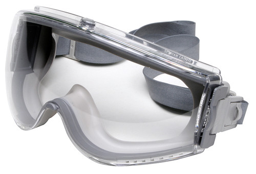 Uvex Stealth Goggles with Clear Dura-Streme Lens