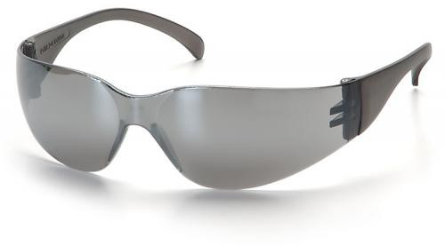 Pyramex Intruder Safety Glasses with Silver Mirror Lens