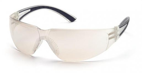 Pyramex Cortez Safety Glasses with Black Temples and Indoor/Outdoor Lens