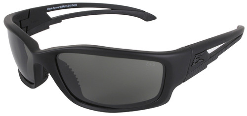 Edge Blade Runner Tactical Safety Glasses with Black Frame and G-15 Lens
