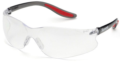 Elvex Xenon Safety Glasses with Clear Anti-Fog Lens SG-14C-AF