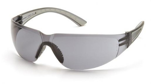 Pyramex Cortez Safety Glasses with Gray Temples and Gray Lens