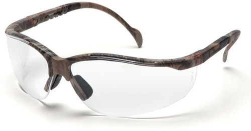 Pyramex Venture 2 Safety Glasses with Realtree Frame and Clear Lens
