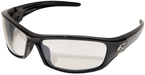 Edge Reclus Safety Glasses with Black Frame and Indoor/Outdoor Lens