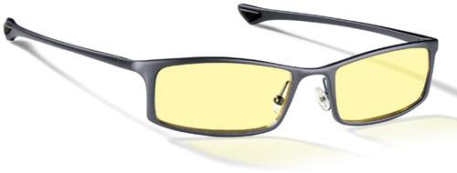 Gunnar Phenom Digital Performance Eyewear with Graphite Frame and Amber Lens
