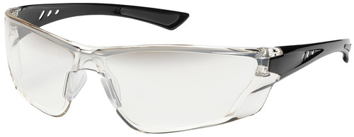 Bouton Recon Safety Glasses with Black Temple and Gradient Anti-Fog Lens