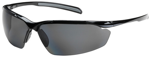 Bouton Commander Safety Glasses with Black Frame and Polarized Gray Lens