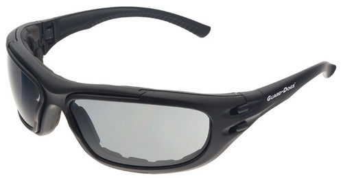 Guard Dogs G100 Safety Glasses/Goggle with Black Frame and Gray Anti-Fog Lenses
