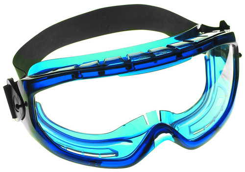 Jackson Monogoggle XTR Blue Frame Clear Anti-Fog Lens