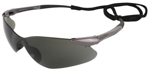 Jackson Nemesis VL Safety Glasses with Smoke Lens