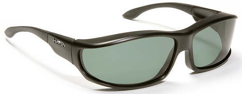 Haven Hunter OTG Sunglasses with Black Frame and Gray Polarized Lens