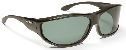 Haven Malloy OTG Sunglasses with Black Frame and Gray Polarized Lens