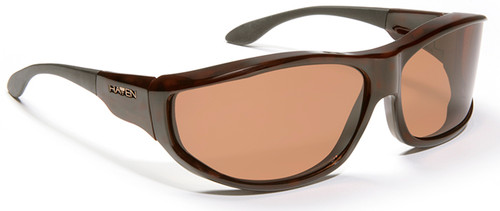 Haven Malloy OTG Sunglasses with Tortoise Frame and Amber Polarized Lens