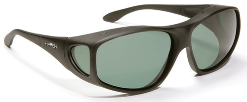 Haven Everest OTG Sunglasses with Black Frame and Gray Polarized Lens