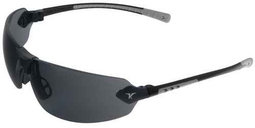 Encon Veratti 429 Safety Glasses with Gray Temple Accent and Gray Anti-Fog Lens