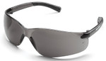 Crews Bearkat Small Safety Glasses with Gray Lenses