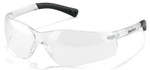 Crews Bearkat 3 Safety Glasses with Clear Anti-Fog Lenses and Soft Gel Nose Pad