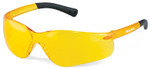 Crews Bearkat 3 Safety Glasses with Amber Lenses and Soft Gel Nose Pad