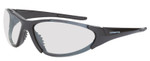 Crossfire Core Safety Glasses with Shiny Black Frame and I/O lens