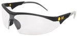 CAT Digger Safety Glasses with Black Frame and Clear Lens