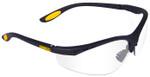 DeWalt Reinforcer Safety Glasses with Clear Lens