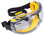 DeWalt Concealer Safety Goggles with Clear Anti-Fog Lens