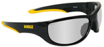 DeWalt Dominator Safety Glasses with Black Frame and Indoor/Outdoor Lens