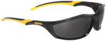 DeWalt Router Safety Glasses with Black Frame and Smoke Lenses