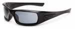ESS 5B Ballistic Sunglasses with Black Frame and Polarized Mirror Lenses