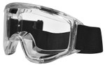 Haber Liquidator Splash Goggle with Clear Single Lens (With Holes for Eliminator Fan)