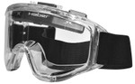Haber Liquidator Splash Goggle with Single Clear Lens and Eliminator Fan
