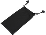 Microfiber Pouch with Black Drawstring and Stopper