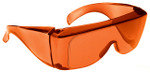 NoIR OTG Nighttime Eyewear with Orange Over-Prescription Lens