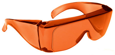 NoIR BluGard OTG Nighttime Eyewear with Orange Over-Prescription Lens