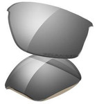 Oakley Flak Jacket Black Iridium Polarized Replacement Lenses