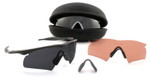Oakley SI M-Frame Hybrid Array with Black Frame and Clear, Gray, and VR28 lenses
