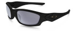 Oakley SI Straight Jacket with Matte Black Frame and Grey Polarized Lens